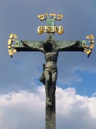 Crucifix on Charles Bridge