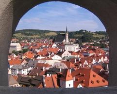 Castle View of Cesky Krumlov