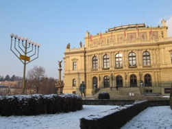 Hanukkah in Prague